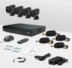 Комплект видеонаблюдения для дома CnM Secure