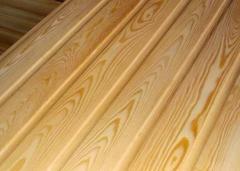Lining pine, linden lining