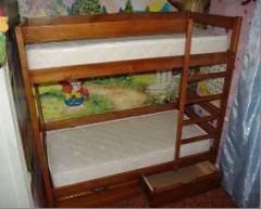Furniture for kindergartens, a day nursery,