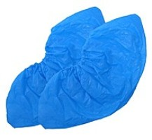 Boot covers low polyethylene on 50 pieces. The