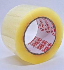 Скотч ПЛОТНЫЙ упаковочный прозрачный - 70 мм × 500 м (заказ кратно 4шт)