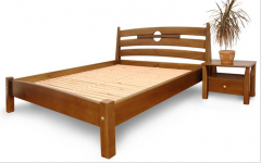 Beds are one-and-a-half. a one-and-a-half bed the