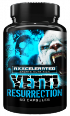 Axxcelerated Sport Nutrition Yetti Resurrection