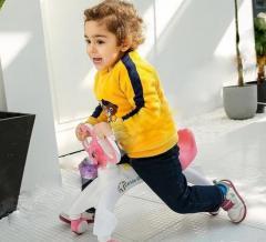 Ходунки-велосипед BABY WALKER РОЗОВЫЙ   Ходунки на
