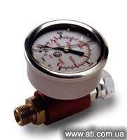 Manometer of the high-pressure painting uni