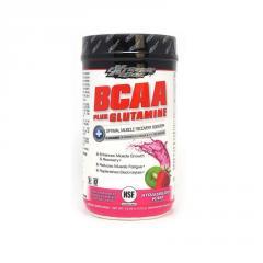 Аминокислоты BCAA с Глютамином, вкус клубники и