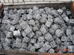 Gray Granite stone blocks of Pokostovk