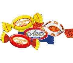 конфеты шоколадные ассорти люкс