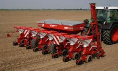 Seeders are grain. Seeder of dotted seeding of