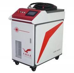 Ручной лазерный волоконный сварочный аппарат 1
