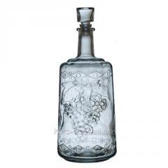 """Бутылка стеклянная """"Ностальгия"""" 3000 мл"""