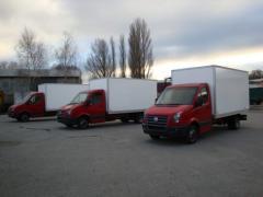 Производство  кузовов - фургонов