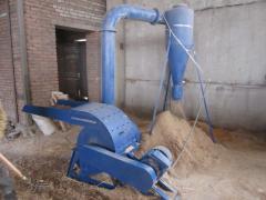 Production line of briquettes Lviv 320-350 kg/h