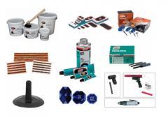 Materiales consumibles para montaje de neumáticos