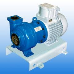 PUMPS GHM TIGHT MONOBLOCK SERIES (futerovanny,
