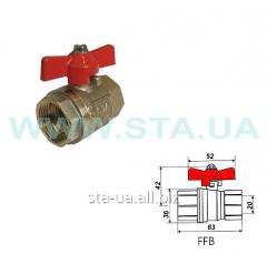 Gates spuskny STA mm, brass for water 15