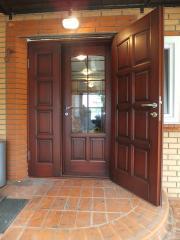 Двери сосна, дуб
