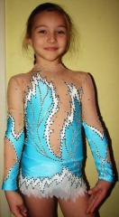 Bathing suit for artistic gymnastics -