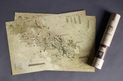 Скретч-карта Карпати оригинальный подарок на...