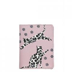 Обложка на ID паспорт Леопардовые коты...