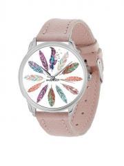 Наручные часы AndyWatch Перья пудра Подарок...