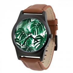 Часы ZIZ Тропическая зелень + доп. ремешок +...