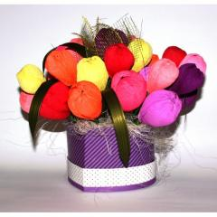 Букет из конфет Акварель подарки на день рождения
