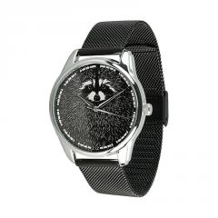 Часы ZIZ Енот (ремешок из нержавеющей стали...
