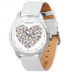 Наручные часы Andywatch Сердце из мозаики...