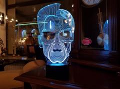 """3D ночник """"Терминатор"""" оригинальный подарок..."""