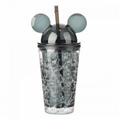 Бутылка Микки Маус Ice Cup 450 мл. Черная...
