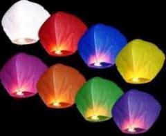 Flying sky lanterns