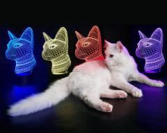"""Детский ночник - светильник """"Кошечка""""..."""