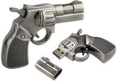 Флешка Револьвер оригинальный подарок на...