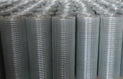 Grid welded galvanized in rolls