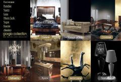 Итальянская мебель в стиле Арт-Деко: Спальни,