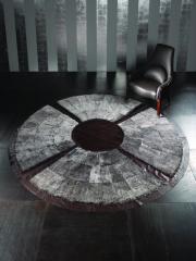 Итальянские ковры из натуральной кожи, ковры из