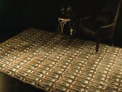 Элитные меховые кожаные ковры бутик мебели Giorgio