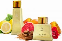 Парфюмерный набор Gold Amber Men&Gold Amber