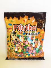 Filutki Dragee разноцветные шоколадные драже