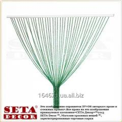 Шторка из пластиковых бусин хамелеон 90х175 см, 40