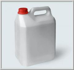 Канистра классической формы 5 литров. Канистры ПЭТ