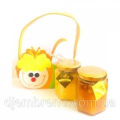 Мёд в подарочной упаковке Пчелка
