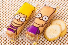 Бисквитное печенье Симпсон (симпатяжки-банан), 1,3