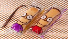 Бисквитное печенье Симпсон (симпатяжки-ваниль),