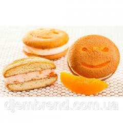 Печенье Хаха-тун (смайлик) с персиком, 1,7 кг (2