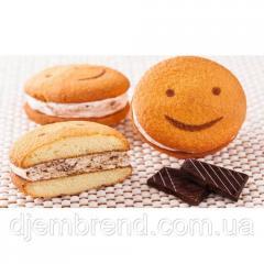 Печенье Хаха-тун (смайлик) с шоколадом, 1,7 кг (2