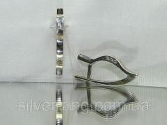 Подарок девушке,  серебряные серьги с...