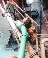 The wearproof lined pipelines