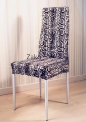 Чехол на стул цвет черная змея ZaKo